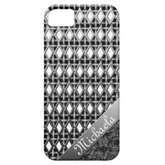Caso metálico intrépido y hermoso iPhone5 Funda Para iPhone SE/5/5s