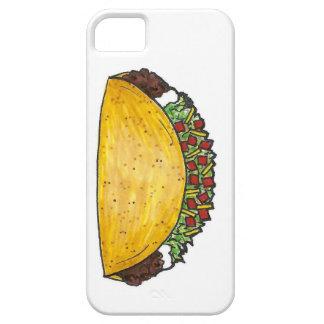 Caso mexicano de Foodie del Tacos de la comida de Funda Para iPhone 5 Barely There