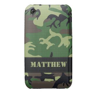 Caso militar adaptable del iPhone 3G/3G de Camo iPhone 3 Case-Mate Protector
