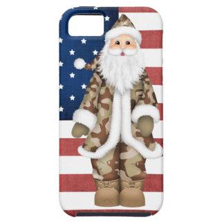Caso militar del iPhone 5 de Santa del camuflaje d iPhone 5 Carcasa