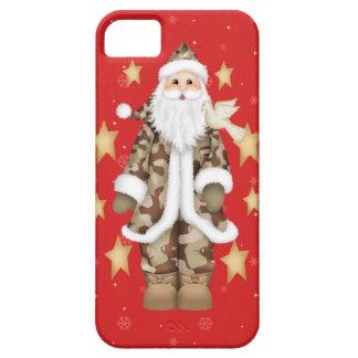 Caso militar del iPhone 5 de Santa del camuflaje d iPhone 5 Fundas