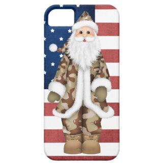 Caso militar del iPhone 5 de Santa del camuflaje d iPhone 5 Carcasas
