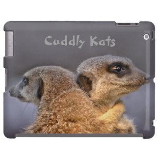 Caso mimoso del iPad de Kats Funda Para iPad