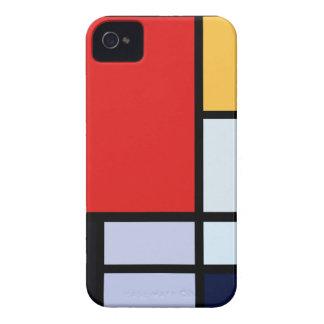 Caso minimalista del iPhone 4 del art déco Case-Mate iPhone 4 Cárcasa