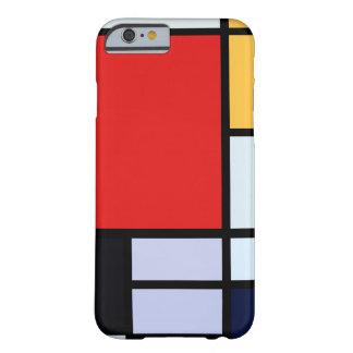 Caso minimalista del iPhone 6 del art déco Funda Para iPhone 6 Barely There