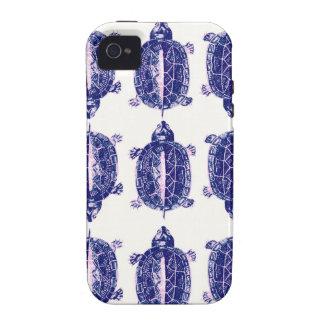 caso minúsculo del iphone de las tortugas vibe iPhone 4 funda
