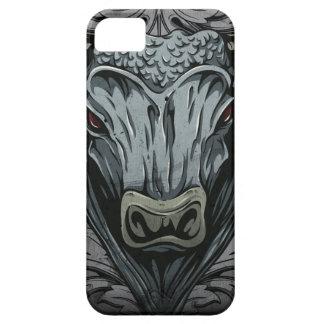 Caso mítico de Iphone de la criatura de Bull iPhone 5 Case-Mate Cárcasas