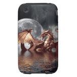 Caso mítico del iPhone 3 de la fantasía del dragón Tough iPhone 3 Protectores