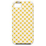 Caso modelado estrellas del iPhone 5 del amarillo iPhone 5 Case-Mate Fundas