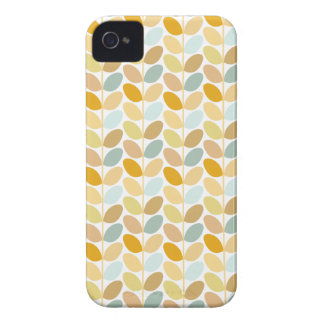 Caso modelado floral retro iPhone 4 Case-Mate coberturas