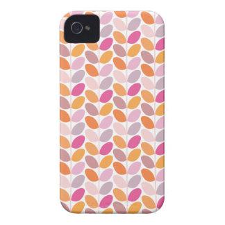 Caso modelado floral retro Case-Mate iPhone 4 carcasa