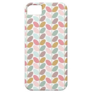 Caso modelado floral retro iPhone 5 Case-Mate carcasa