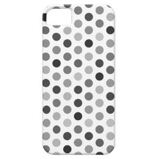 Caso modelado lunar Greyscale iPhone 5 Case-Mate Coberturas