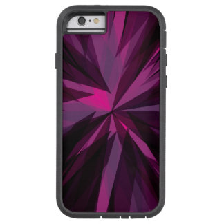Caso modelado púrpura del iPhone 6/6s Funda Para iPhone 6 Tough Xtreme