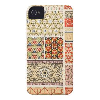 Caso modelado vintage del iPhone 4 iPhone 4 Case-Mate Funda