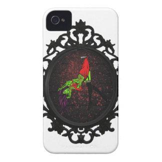 caso modelo del iphone 4/4s del zombi funda para iPhone 4 de Case-Mate
