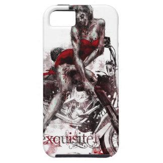 Caso modelo del iPhone del zombi de la motocicleta iPhone 5 Case-Mate Protector