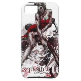 Caso modelo del iPhone del zombi de la motocicleta iPhone 5 Funda