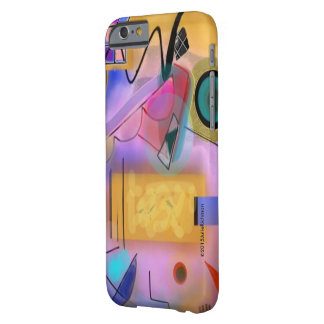 Caso modernista abstracto del iPhone 6 Funda Para iPhone 6 Barely There