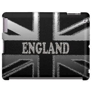 Caso moderno del iPad de la bandera de Union Jack  Funda Para iPad