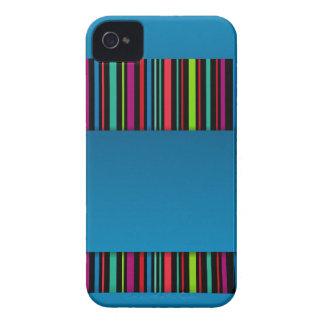 Caso moderno del iPhone 4 de las rayas Case-Mate iPhone 4 Funda