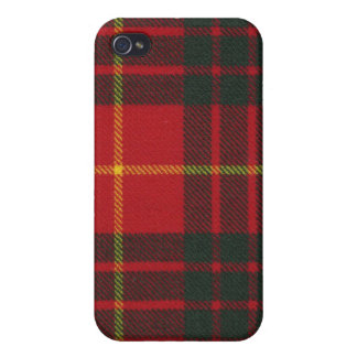 Caso moderno del iPhone 4 del tartán de Cameron iPhone 4/4S Fundas