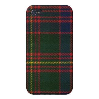 Caso moderno del iPhone 4 del tartán de Carnegie iPhone 4/4S Carcasa