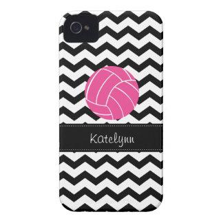 Caso moderno del iPhone 4 del voleibol del zigzag iPhone 4 Carcasas