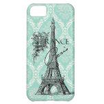 Caso moderno del iphone 5 de la torre Eiffel de Pa