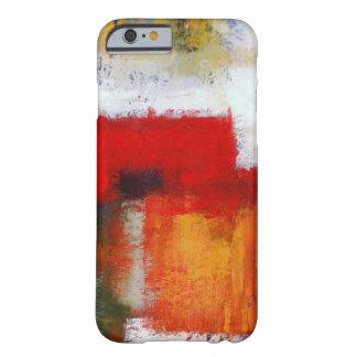 Caso moderno del iPhone 6 del arte abstracto Funda Para iPhone 6 Barely There