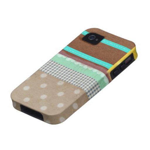 Caso moderno del iphone del muchacho iPhone 4/4S carcasa