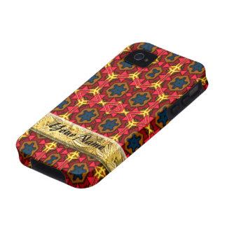Caso moderno del iPhone del nativo americano 4 Case-Mate iPhone 4 Carcasa