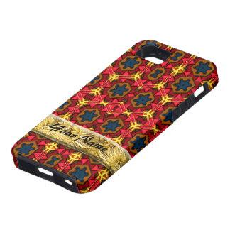 Caso moderno del iPhone del nativo americano 4 iPhone 5 Carcasas