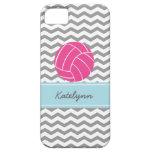 Caso moderno del iPhone del voleibol del rosa del  iPhone 5 Protector