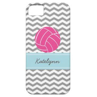 Caso moderno del iPhone del voleibol del rosa del Funda Para iPhone 5 Barely There