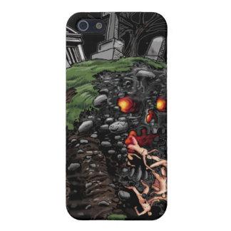 Caso monstruoso del cementerio iPhone4 iPhone 5 Cárcasa