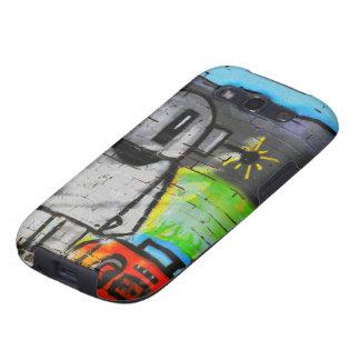 Caso móvil de la música de la pintada androide de  samsung galaxy s3 protector
