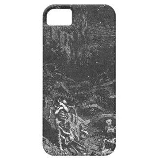Caso muerto del iphone 5 del cementerio iPhone 5 protectores