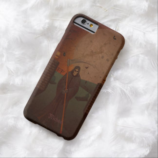 Caso muerto del iPhone 6 del segador que camina Funda De iPhone 6 Barely There