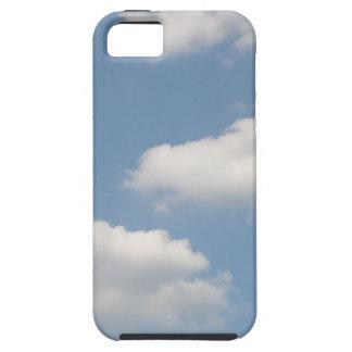 Caso mullido del iPhone 5 de las nubes de cúmulo iPhone 5 Fundas