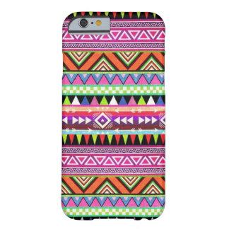 caso multicolor de Navajo del caso del iPhone 6 Funda De iPhone 6 Slim