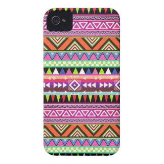 caso multicolor de Navajo del iPhone 4 4s Case-Mate iPhone 4 Fundas
