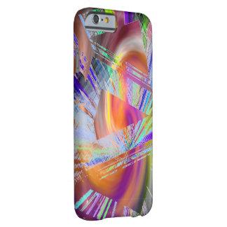 Caso multicolor del iPhone 6 de los puntos Funda De iPhone 6 Barely There
