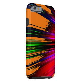 Caso multicolor del iPhone 6 del punto culminante Funda De iPhone 6 Tough