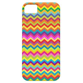 Caso multicolor del iphone del modelo de zigzag de iPhone 5 Case-Mate cárcasas