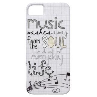 caso musical caprichoso del iphone 5 del amante iPhone 5 fundas