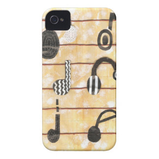 Caso musical de Barely There Iphone 4 del auricula