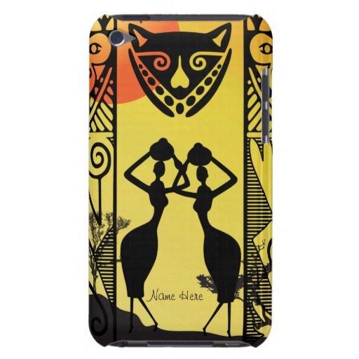 Caso nativo africano de la casamata de iPod iPod Case-Mate Protector