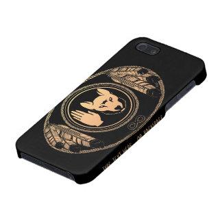 Caso nativo de la rebelión del caso del iPhone 5 d iPhone 5 Protectores