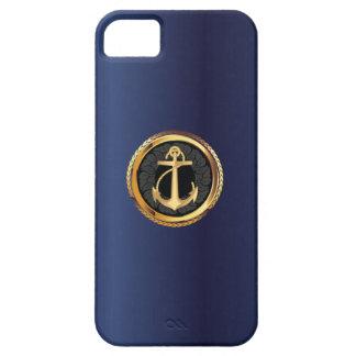 Caso náutico del iPhone 5 de los azules marinos de iPhone 5 Case-Mate Protector